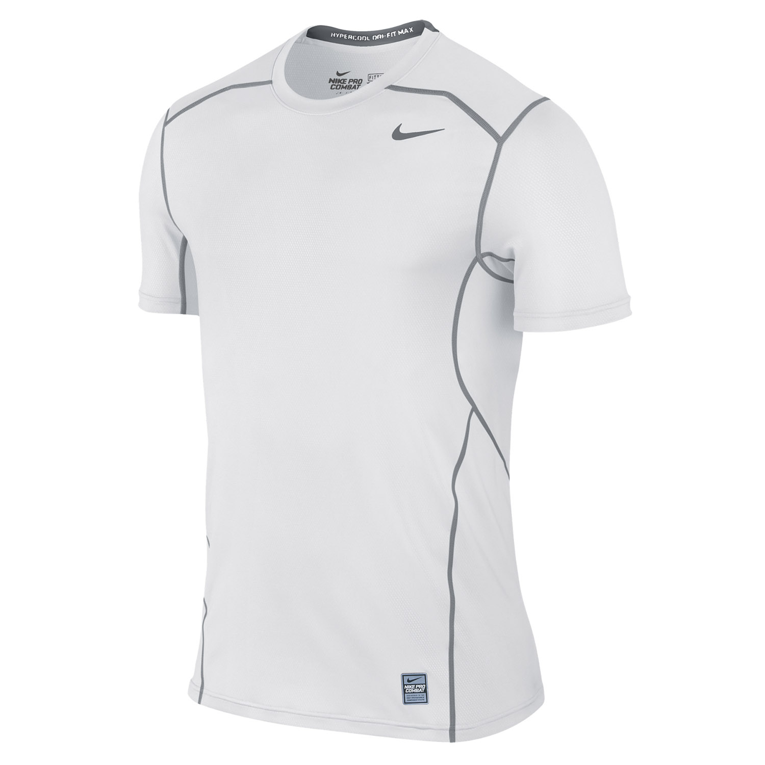 nike pro combat hypercool fitted short sleeve 3 0 t shirt