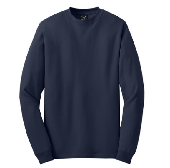 Hanes Long Sleeve Beefy T Shirt