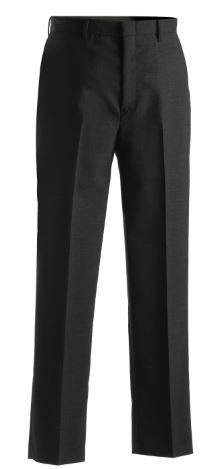 TU038 - EDWARDS MENS WOOL BLEND FLAT FRONT DRESS PANT