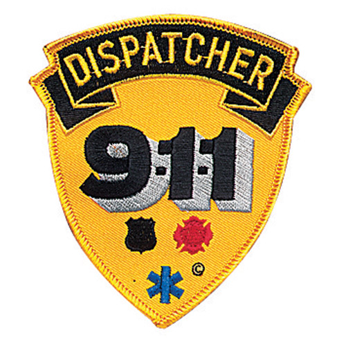 Penn Emblem 911 Dispatcher Standard Emblem