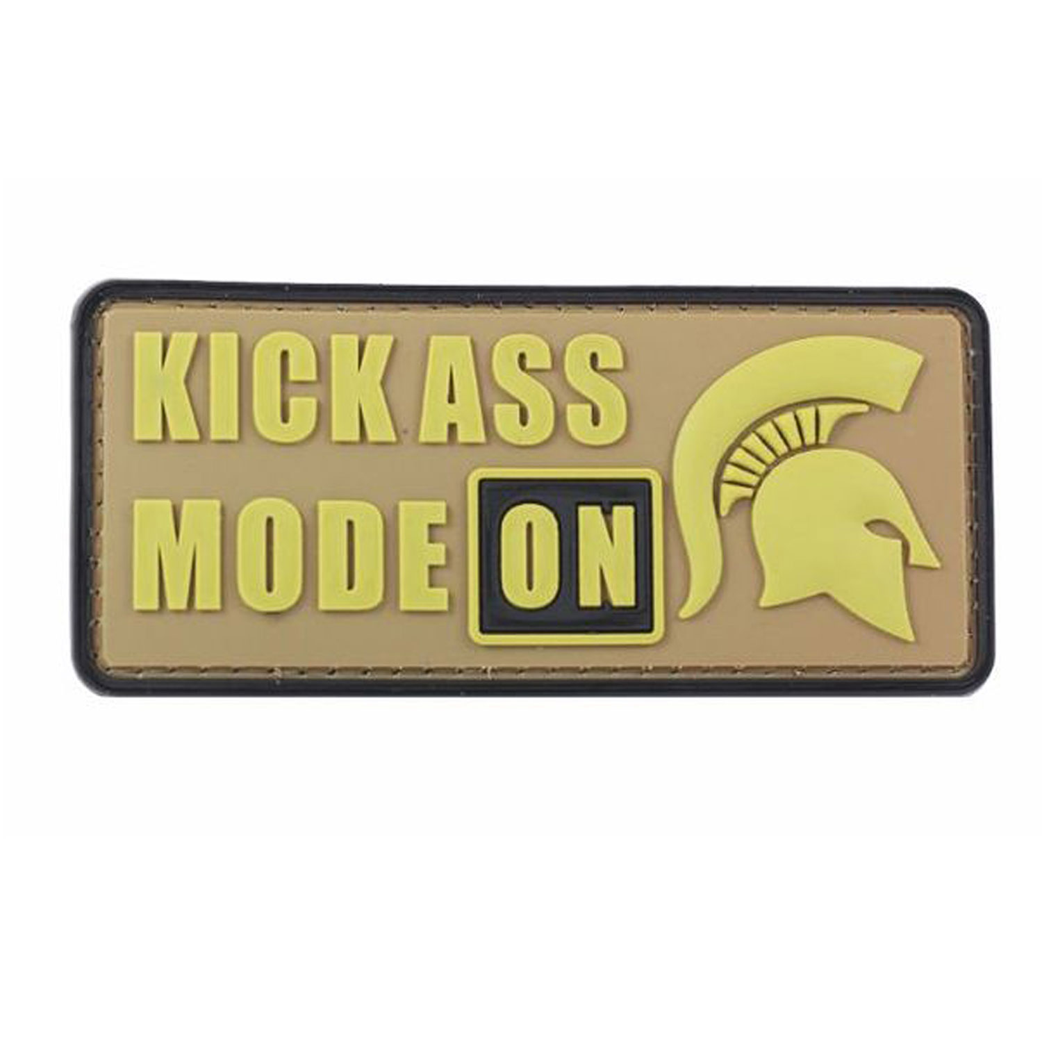 PFI Fashions Kickass Mode PVC Morale Patch