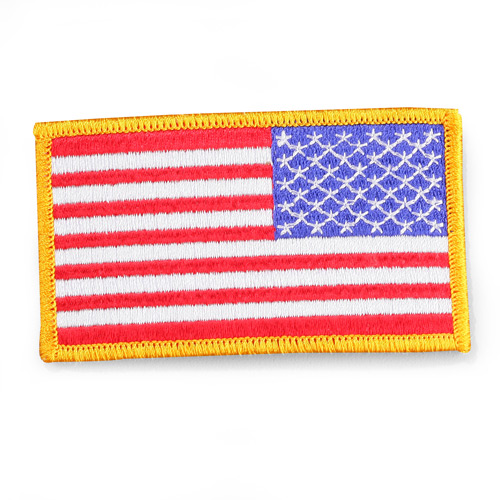 Penn Emblem American Flag Emblem for Right Sleeve