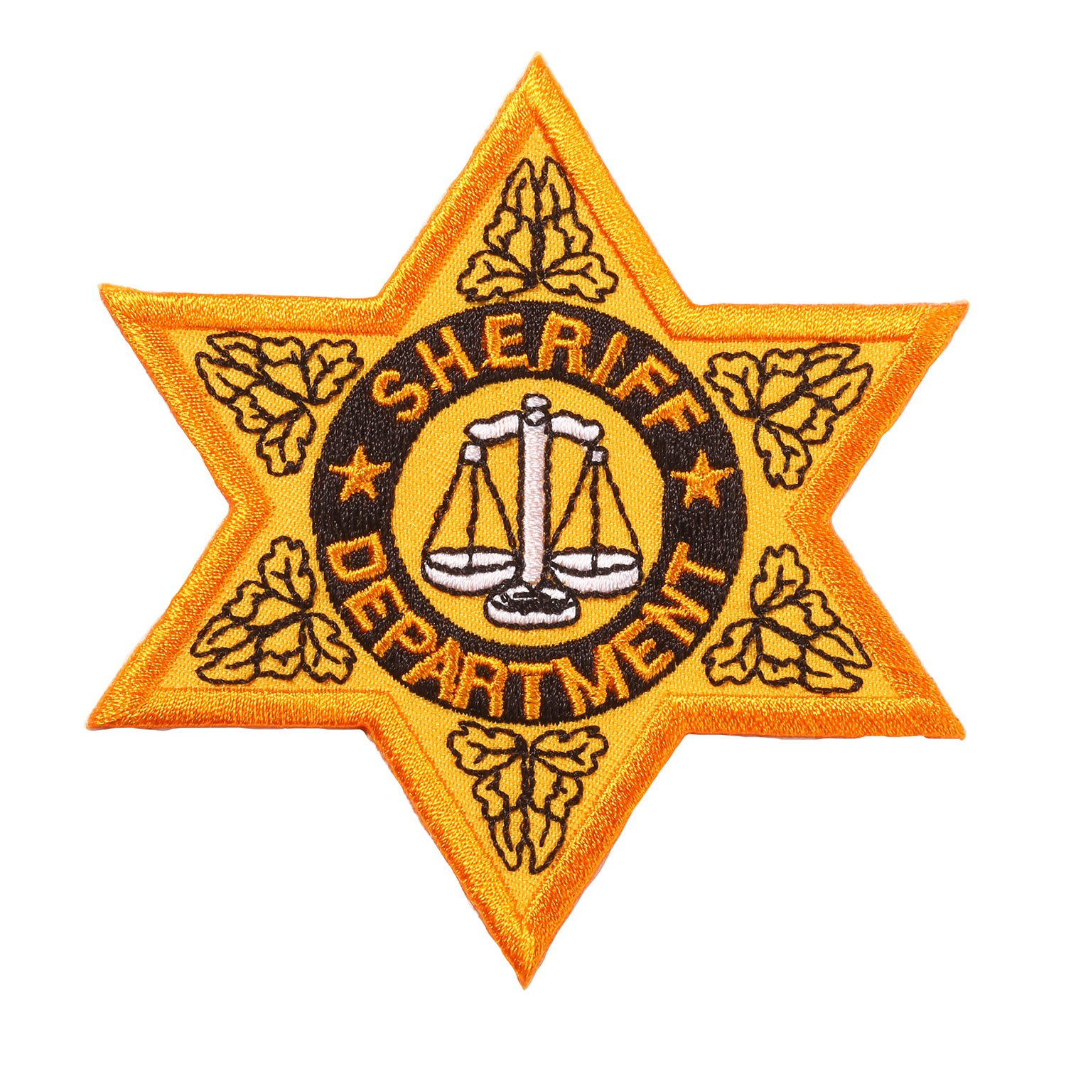 Penn Emblem Sheriff Badge Emblem (Standard Finish)
