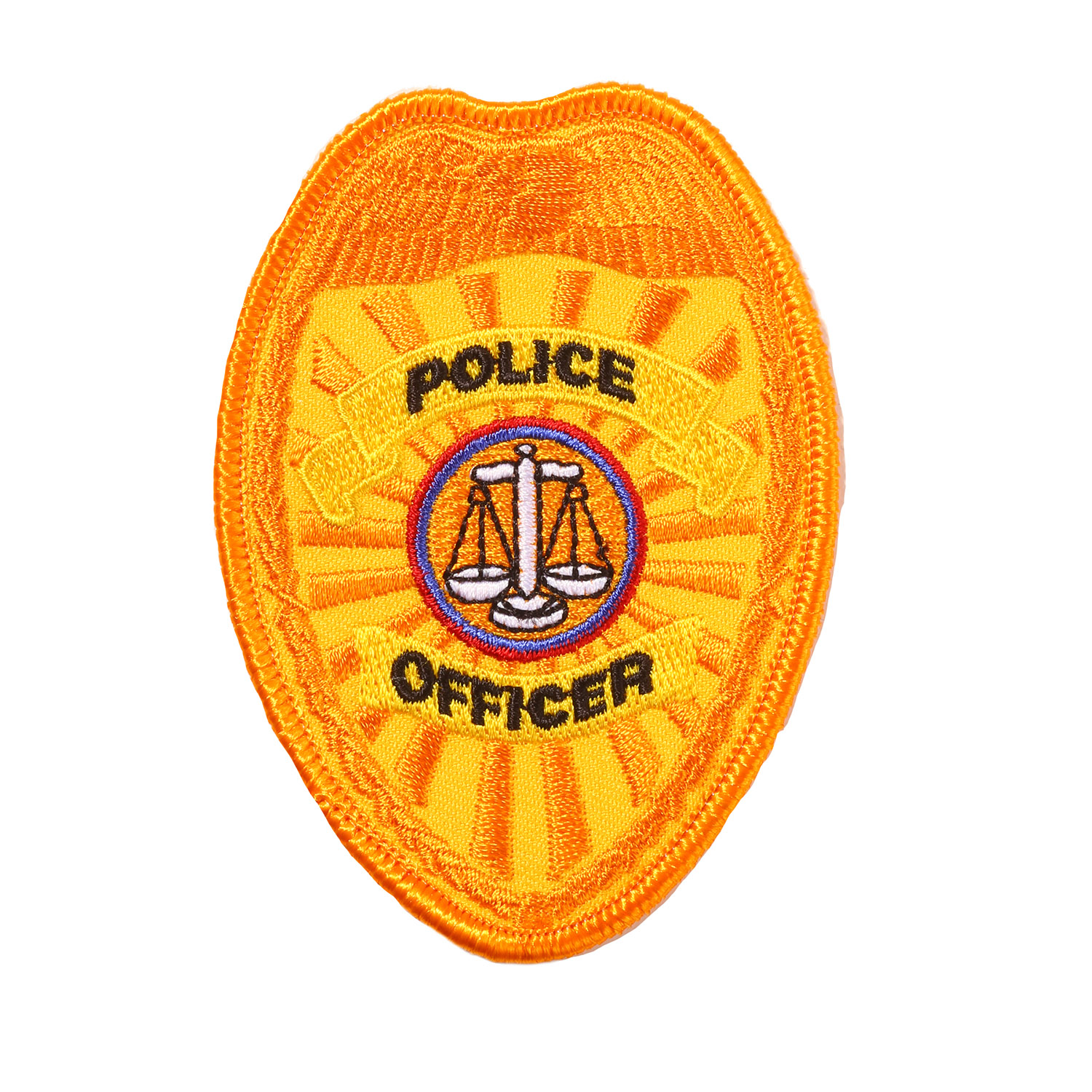 Penn Emblem Police Officer Badge Emblem (Standard Finish)