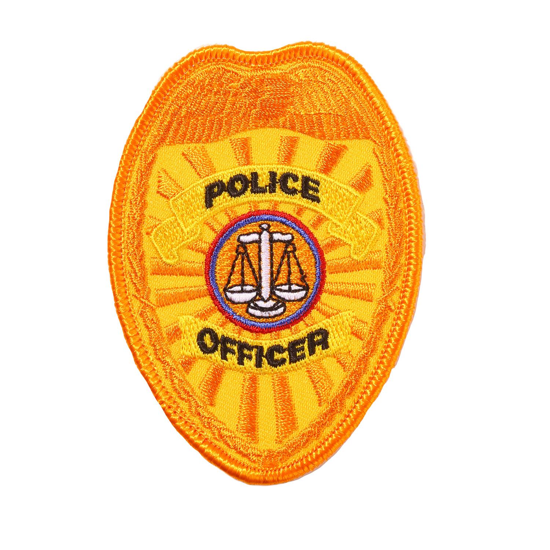 Penn Emblem Police Officer Badge Emblem Standard Finish