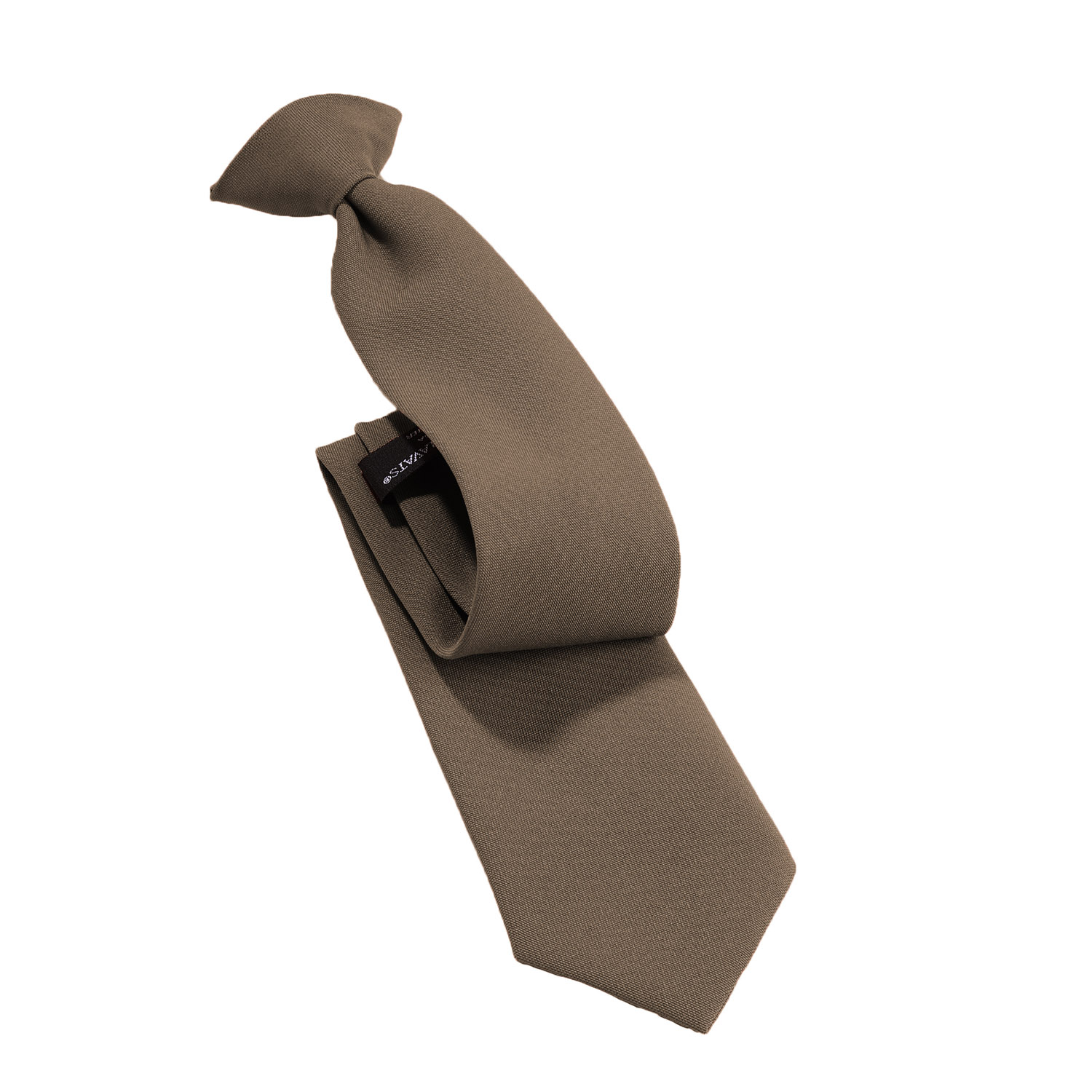 """24/"""" Solid BLACK Xtra-Long Clip-On Uniform Tie Police//Fire//EMS//Security TALL"""