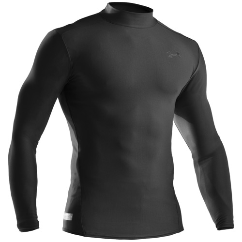 Under Armour ColdGear Compression Fit Mens Mock Neck Shirt