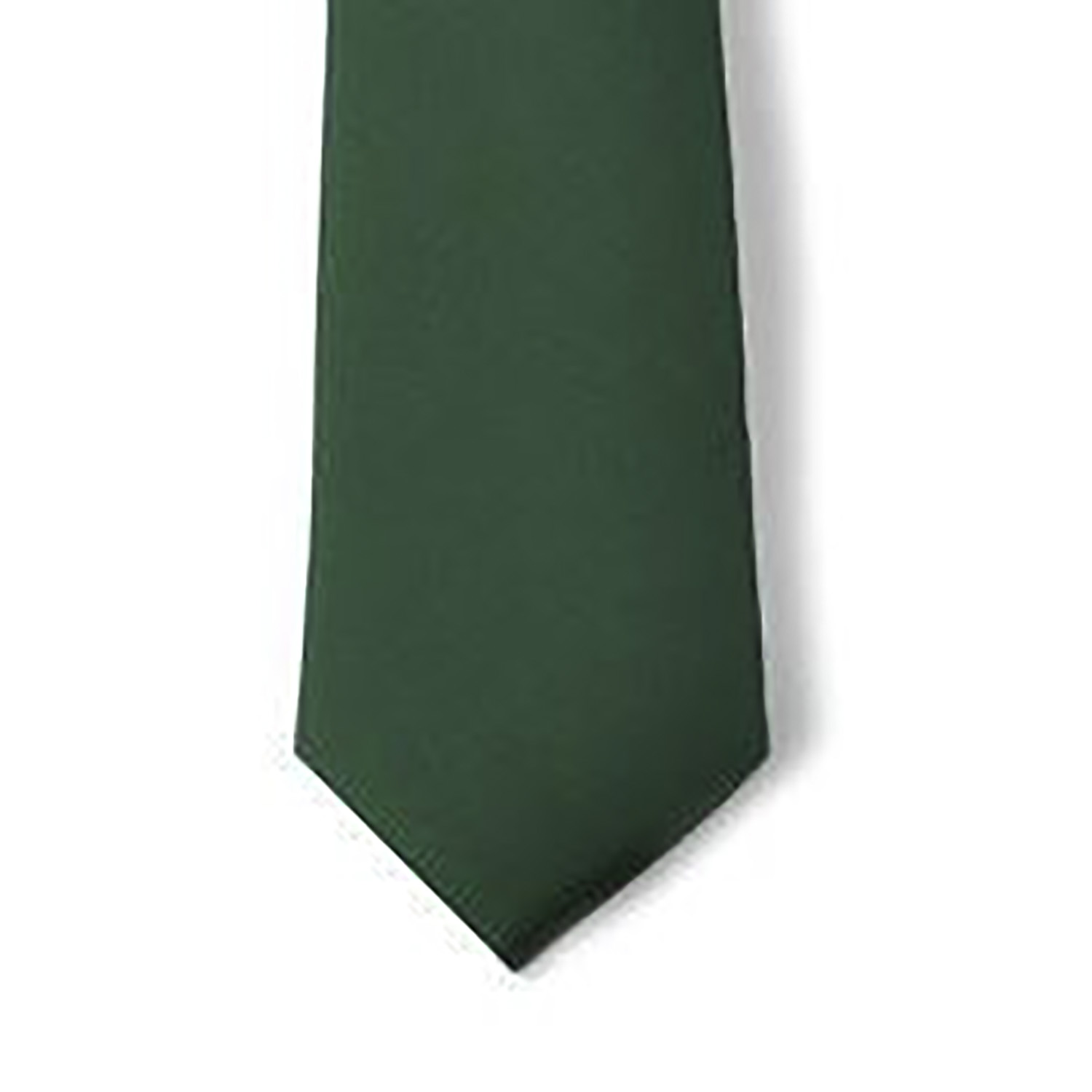 "Samuel Broome Polyester 3.5"" Necktie with Buttonholes"