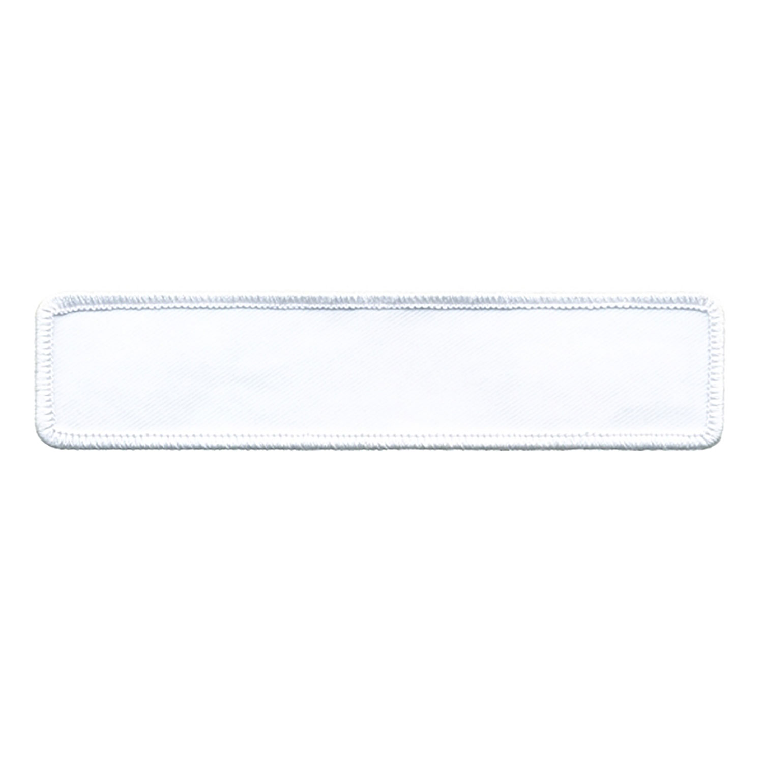 "Hero's Pride Embroiderable Blank Rectangle 1"" x 5"" (Not Appl"