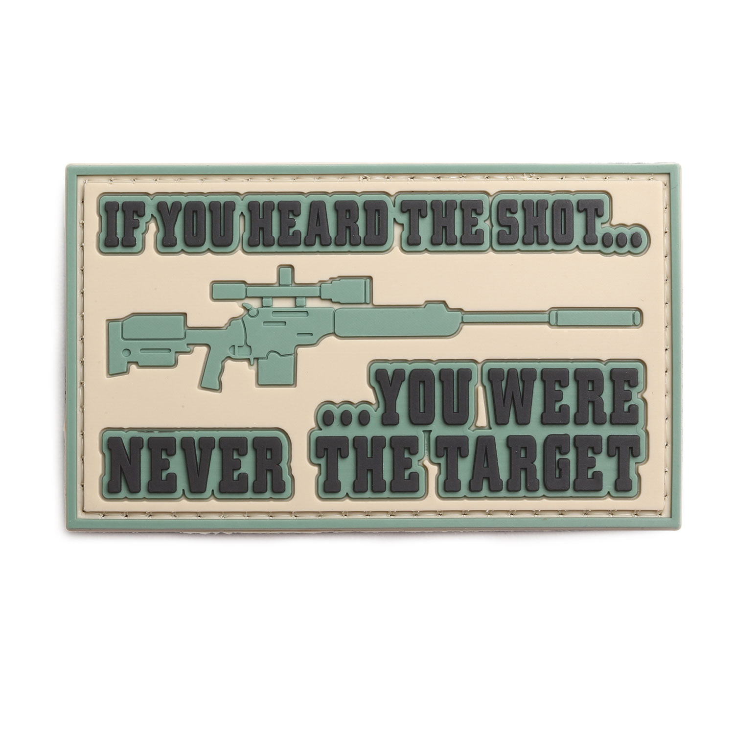 "5ive Star Gear ""Heard The Shot"" Morale Patch"