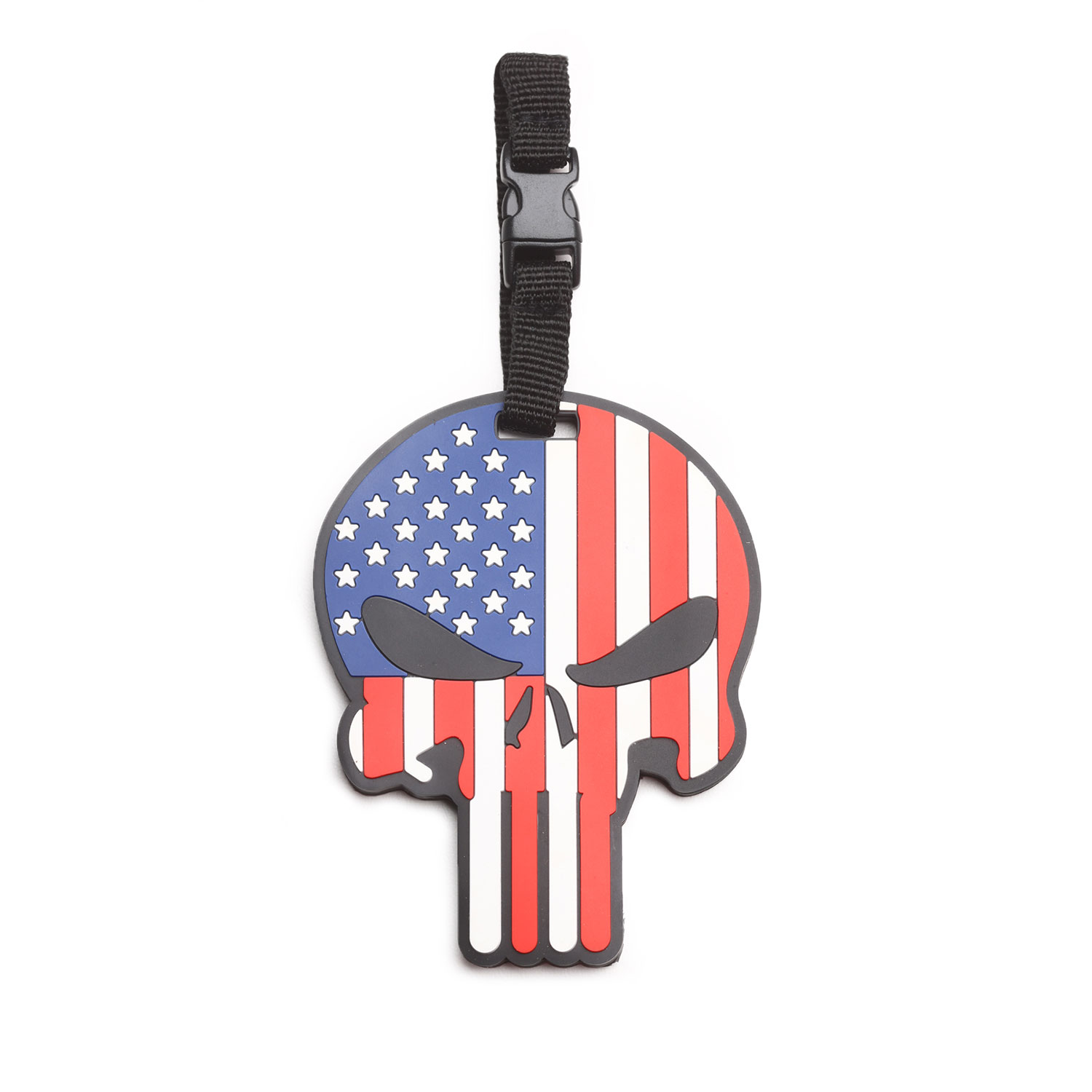 "5ive Star Gear ""Patriotic Punisher"" Luggage Tag"