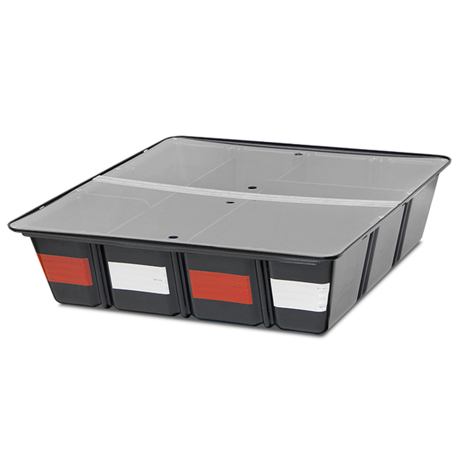Tufloc TufBox Storage Bin with Dividers and Lid