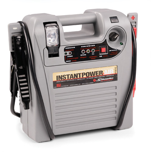 Shumacher Jumpstarters Instant Power with Air Compressor and