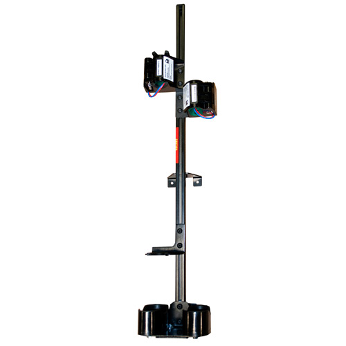 patriot products dual vertical weapon rack for partition