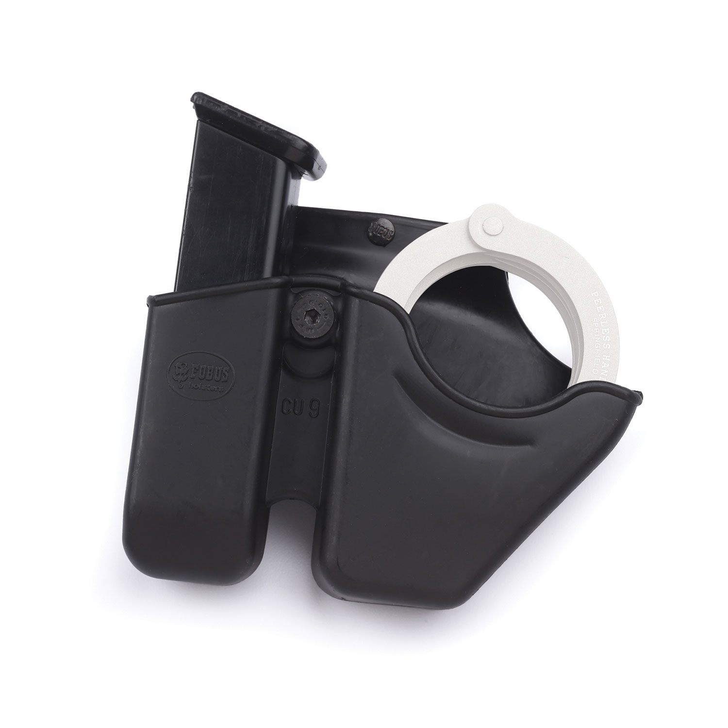 Fobus CUFF Open-Top Plastic Paddle Handcuff Case For Chain Hinged Handcuffs
