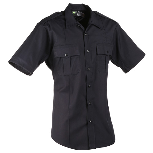 Horace Small New Dimension Short Sleeve Stretch Poplin Shirt