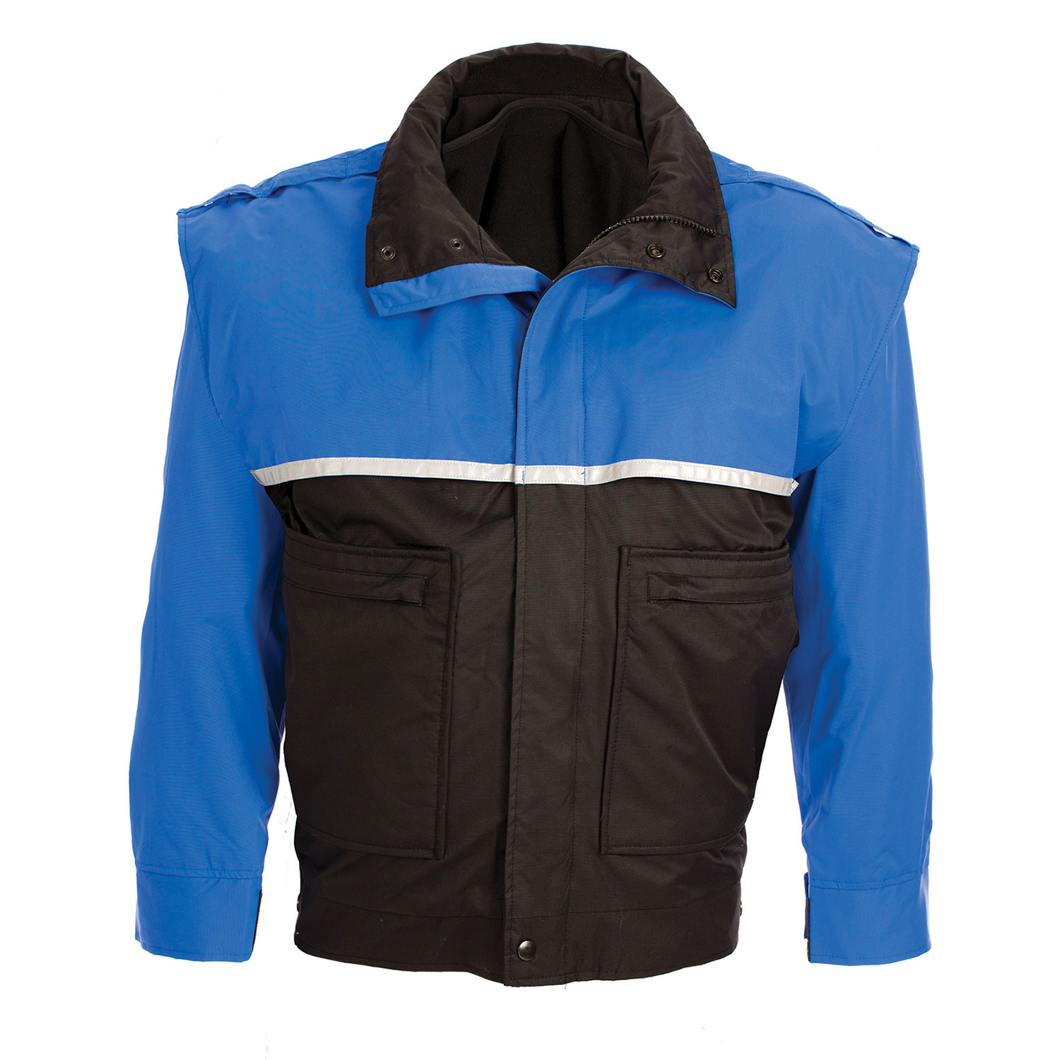 United Uniform Bike Jacket with Zip-Off Sleeves