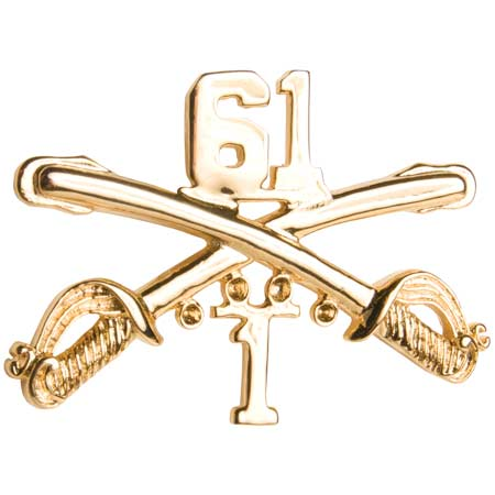CARBONE ENTERPRISES BasicApparel Cavalry Hat Pin 1/33