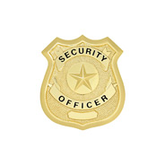 LawPro Security Officer Hat Badge