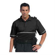 United Uniform Coolmax Polo with Reflective Trim