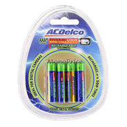 ACDelco Insta-Use AAA 8-pk Rechargeable 800mAhNiMH