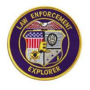 LawPro Law Enforcement Explorer Patch