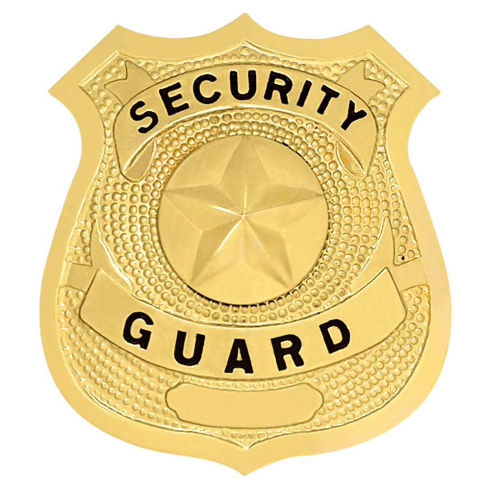 lawpro security guard shield with star hat badge. Black Bedroom Furniture Sets. Home Design Ideas