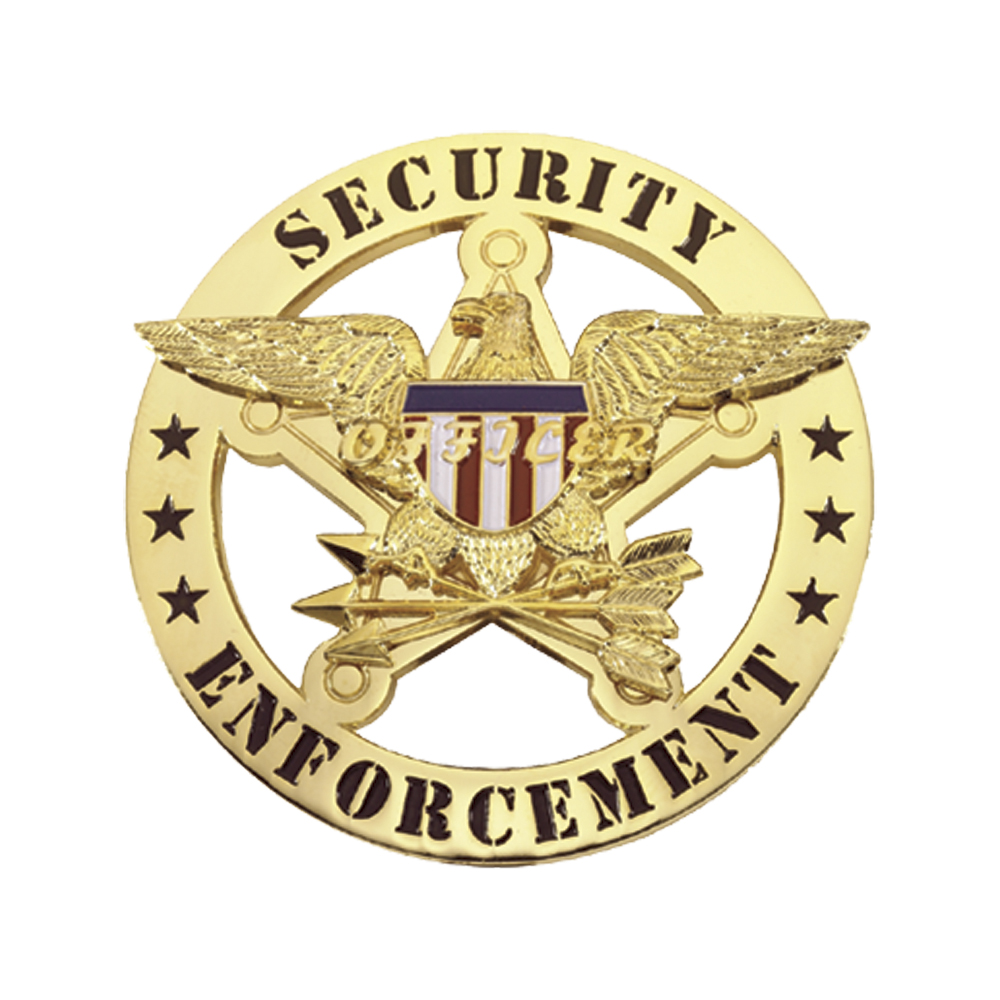 LawPro Security Enforcement Badge with Eagle