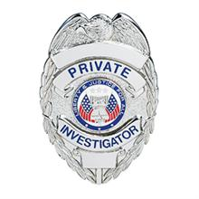 LawPro Private Investigator Badge