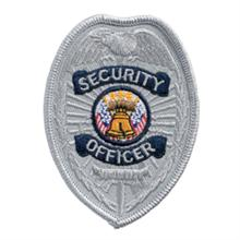 LawPro Security Officer Reverse Panel Shield Patch