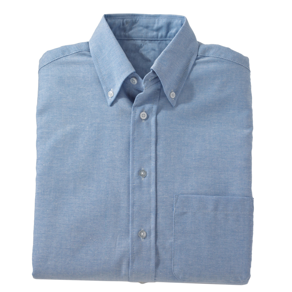 Edwards Men's Short Sleeve Button Down Oxford Shirt
