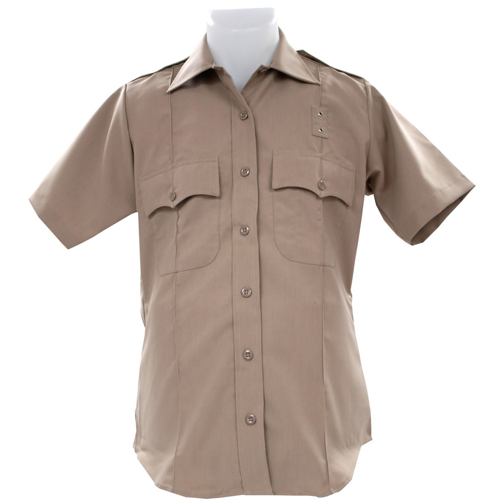 United Uniform Women 39 S Cdcr Short Sleeve Shirt Tan