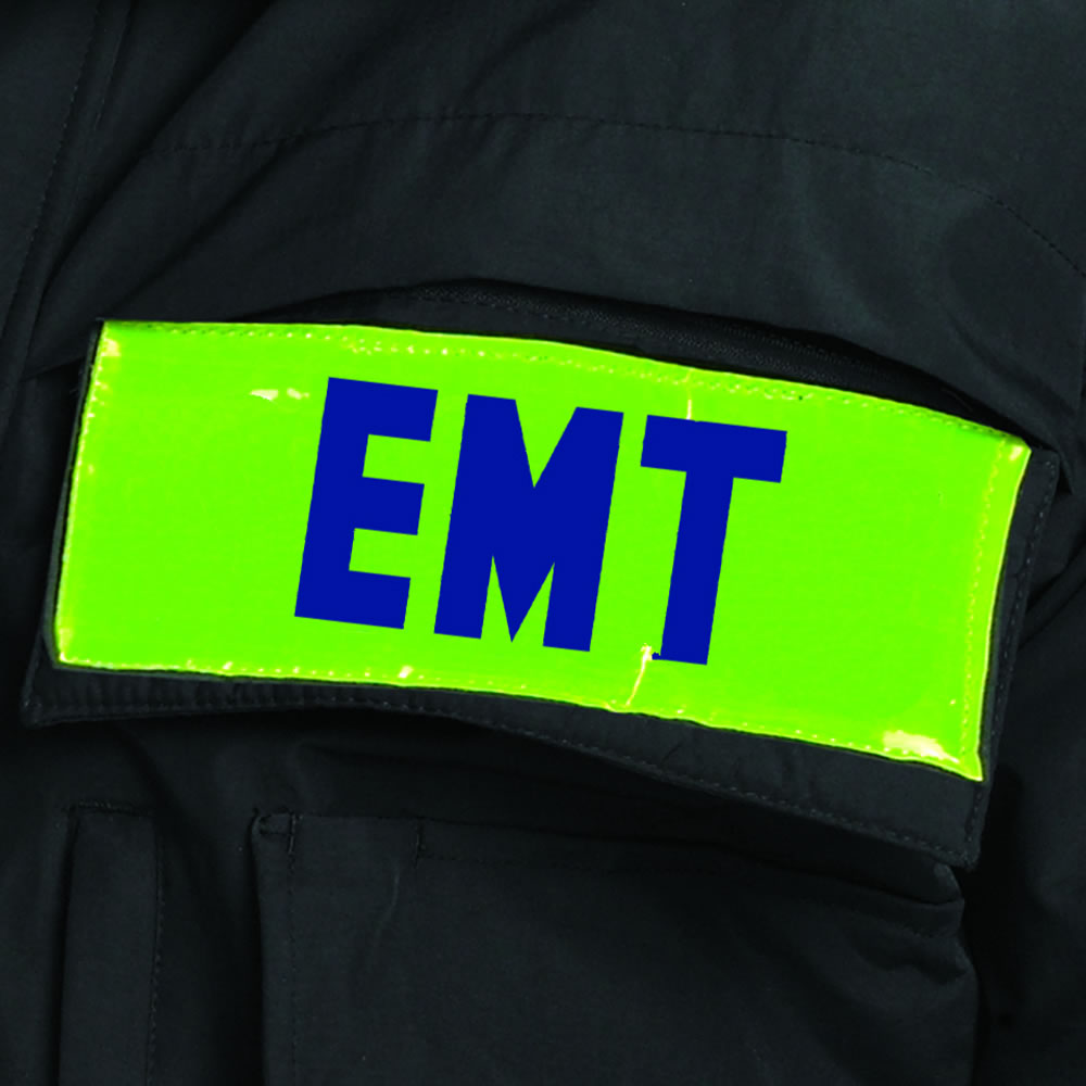 Tact Squad Hi-Viz Panels for Perfect Storm Jacket