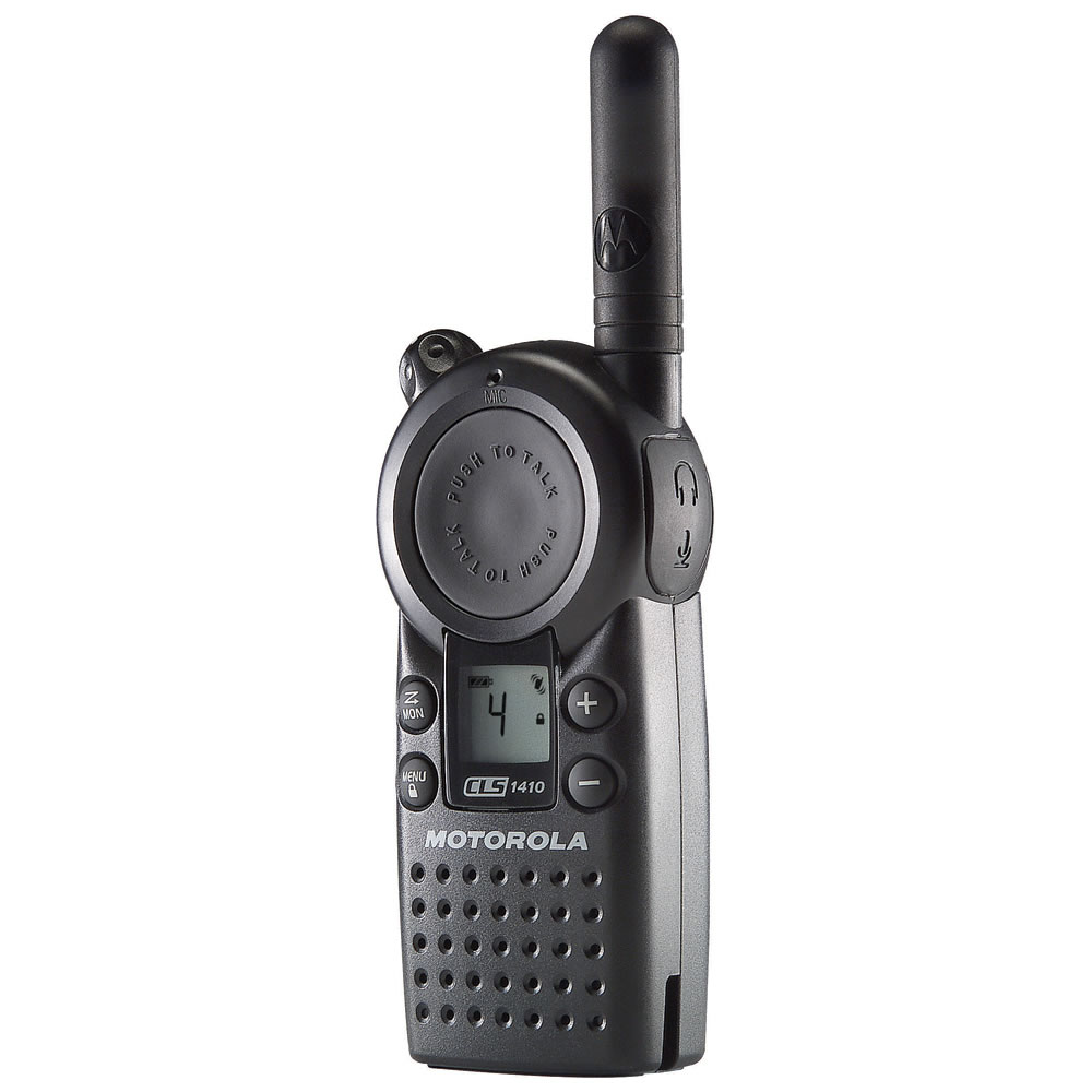 Motorola 1 Watt UHF Radio (Model CLS1410)