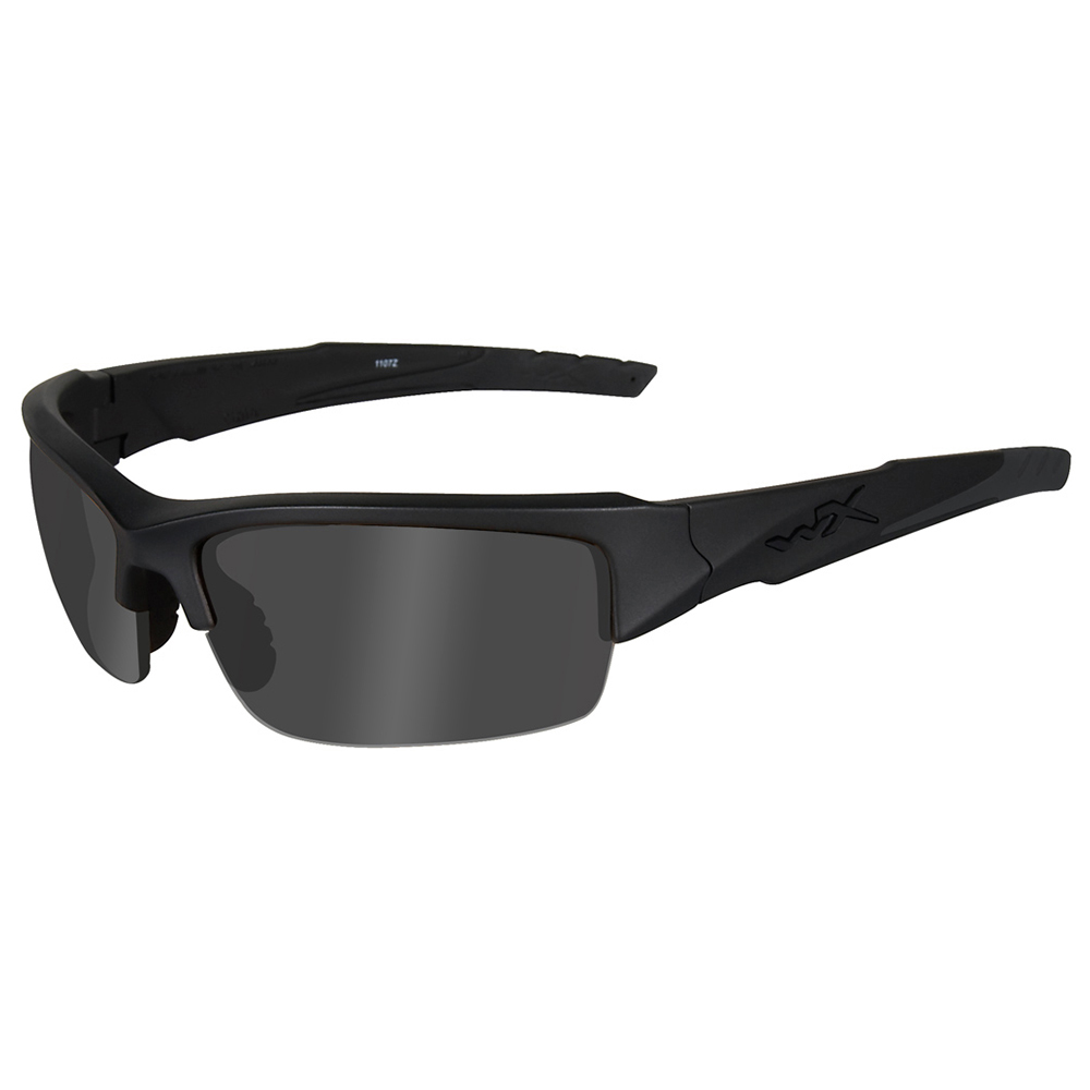 Wiley X Valor Black Ops Sunglasses Smoke Grey Matte Black