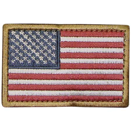 Condor USA Flag Patch (6 Pack)