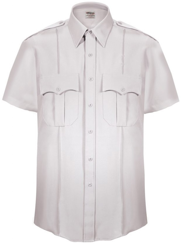 Elbeco TexTrop2 Men's Zippered Short Sleeve Shirt