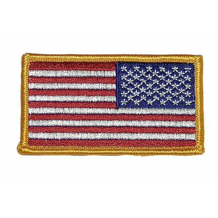 BasicGear Reversed American Flag Patch